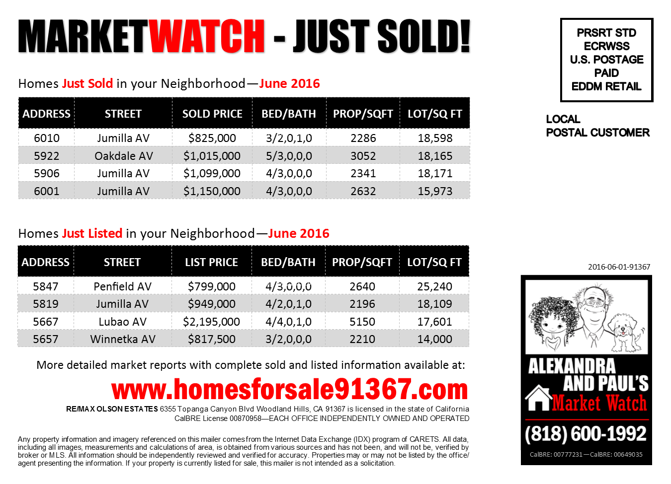 Remax-at-Home - Collateral - MARKET WATCH - JUN2016-1 - BACK (Rev-1)
