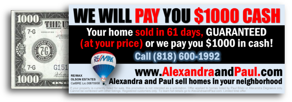 | Alexandra and Paul Sell Homes | Your Home Sold Guaranteed in 61 Days | Alexandra and Paul Have The Buyers | HomeSellerCoaching.com | (833) SOLD-SOLD